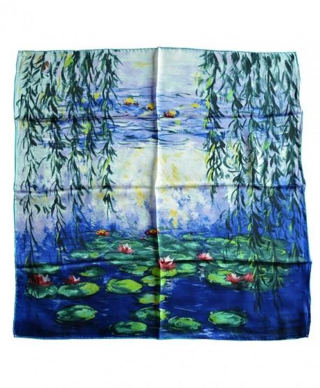 YSSP Nympheas Claude Painting Elegant Fashion - Claude Monet-nympheas Blue - CC185YODNYU