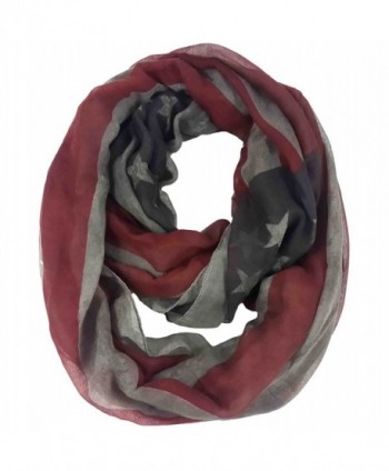 Lina Lily Vintage American Infinity in Fashion Scarves