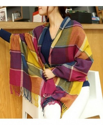 Wander Agio Womens Scarves Colours in Cold Weather Scarves & Wraps