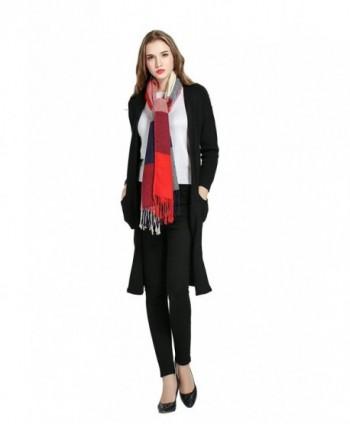 Luxina Tartan Blanket Winter Pashmina