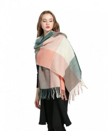 Luxina Tartan Blanket Winter Pashmina in Fashion Scarves