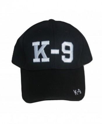 TrendyLuz K-9 Police Unit Law Enforcement 3D Embroidered Adjustable Baseball Hat Cap - C31890S0GTW