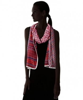 prAna Carmen Scarf Sunlit Coral in Fashion Scarves