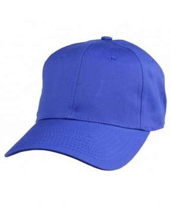 Plain Hat Baseball Caps (45 Colors) - Royal Blue - C8119N1AWQZ