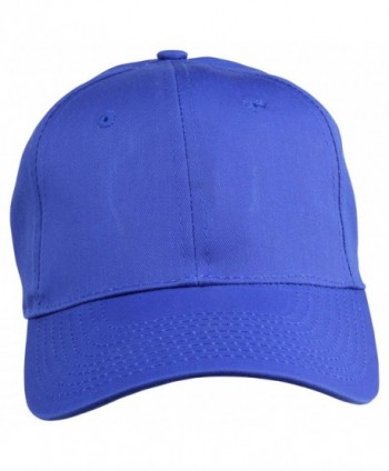Plain Baseball Cap Royal Blue
