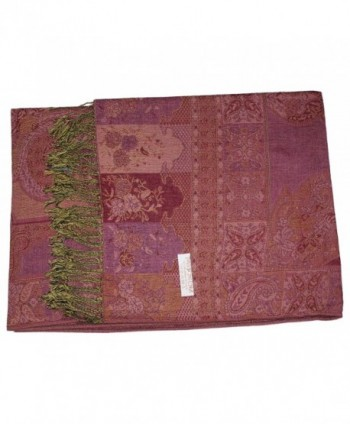 Ted Jack Tapestry Reversible Pashmina in Fashion Scarves