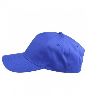 Plain Baseball Cap Royal Blue in Men's Baseball Caps