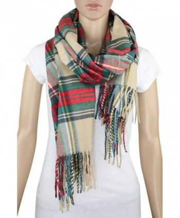 Achillea Scottish Tartan Cashmere Blanket