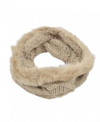 Premium Winter Diamond Infinity Circle in Fashion Scarves