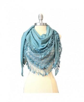 SCARF_TRADINGINC%C2%AE Triangle Knit Fashion Scarf
