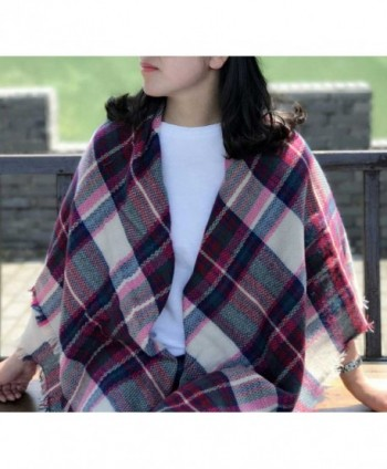 Selighting Womens Oversized Square Blanket
