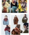 Selighting Womens Oversized Square Blanket in Cold Weather Scarves & Wraps