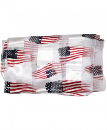 Ted Jack Stars Stripes American in Fashion Scarves