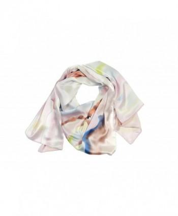 TexereSilk Women's 100% Silk Shawl Wrap - Beautiful Luxury Gift Ideas AS0002 - Multicolored - C6115EPQCOV