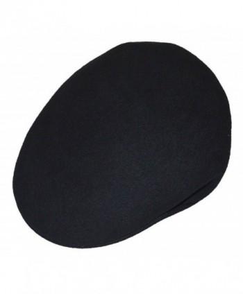 Scala 100% Felt Wool Ivy Crushable Water Repellent Cap Black - CM116YR1Y5Z