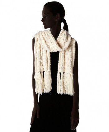 Cole Haan Womens Chunky Fringe in Fashion Scarves