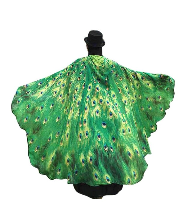 Vovotrade Peacock Butterfly Wings Shawl Fairy Ladies Nymph Pixie Costume Accessory - C - CG12NVXR5H3