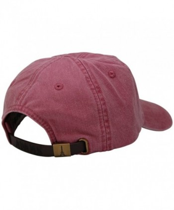 Sunbuster Washed Cotton Leather Adjustable in Men's Baseball Caps