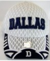 Dallas Script Summer Adjustable Baseball
