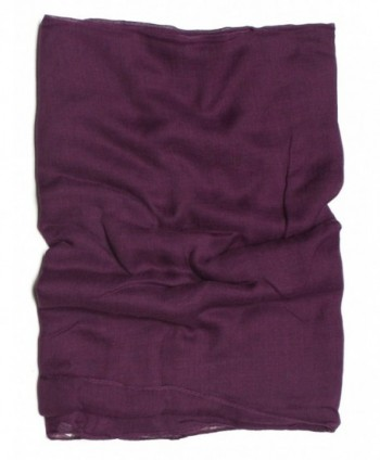 DRY77 Solid Infinity Scarf Purple in Fashion Scarves