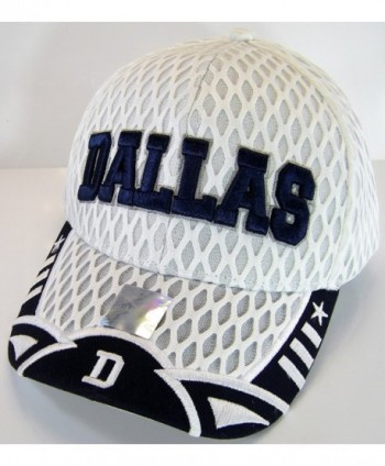 Dallas Script Summer Adjustable Baseball in Men's Baseball Caps