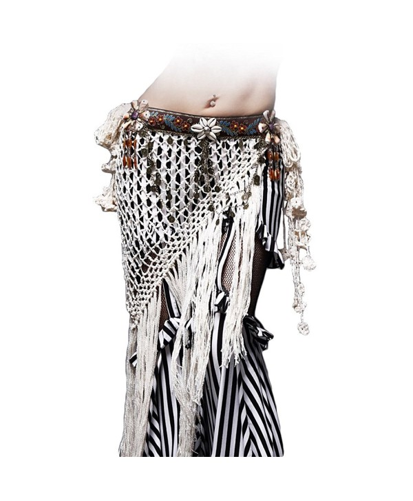 High Grade ATS/ITS/Fusion Tribal Belly Dance Hip Scarves - C3184XWQLR0
