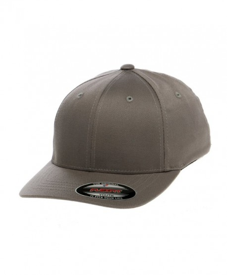 Premium Original Flexfit Wooly Combed Twill Youth Cap 6277Y - Grey - C211EKEZVS5