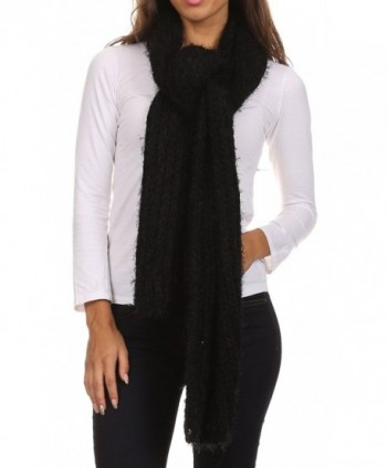 Sakkas CPXS1538 Grecia Womens Textured in Cold Weather Scarves & Wraps