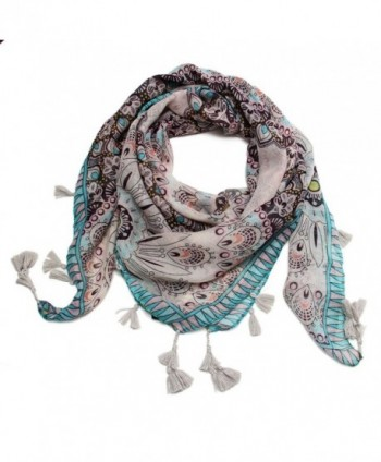 Scarfands Multi color Spring Scarves Floral