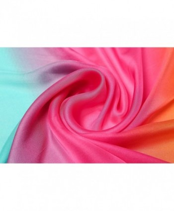 Gradient Colors Scarves Lightweight Shawls in Fashion Scarves