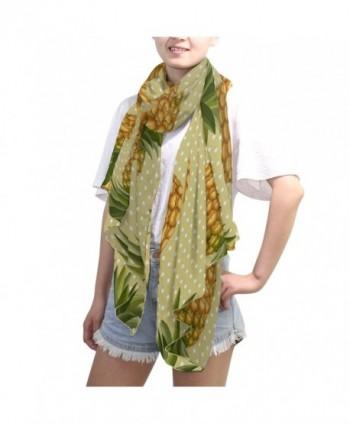 DEYYA Infinity Lightweight Pineapple Pattern in Fashion Scarves