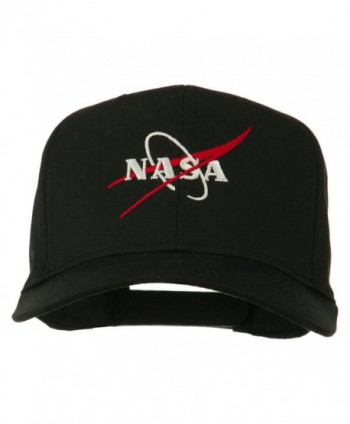NASA Logo Embroidered Cotton Twill