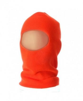 Fleece Lined Face Mask - Blaze - CY114YSONRR