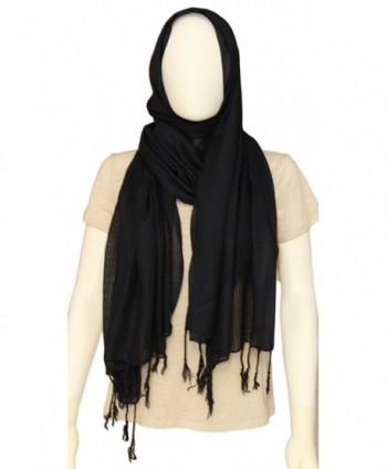 Ethnicity Headscarf Striped Scarves Elegant