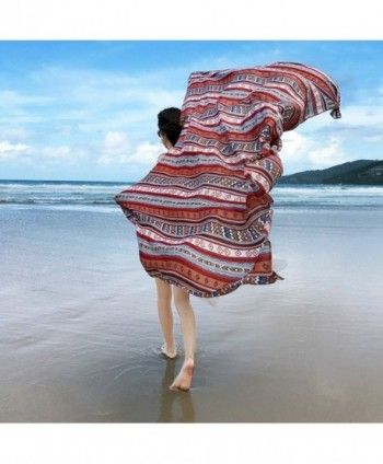 GERINLY Summer Vacation Lightweight Coverups in Fashion Scarves