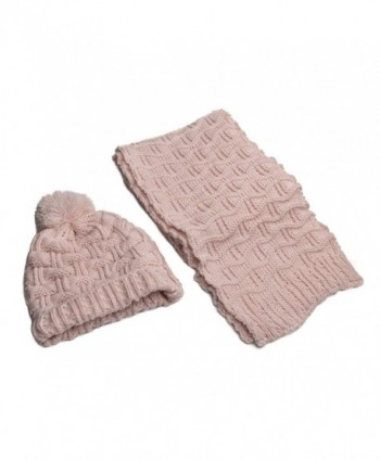 9579ba87e1c Lanzom Women Lady Fashion Winter Warm Knitted Hat and Scarf Set Skullcaps  Valentine s Gift - Light  Lanzom Fashion Winter Knitted Skullcaps ...