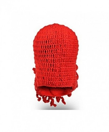 Fan008 Windproof Knitted Tentacle Octopus in Men's Skullies & Beanies