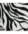 TrendsBlue Elegant Animal Fringe White