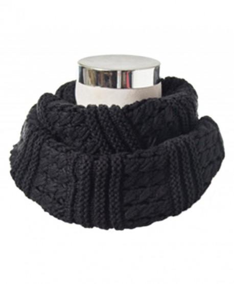 HONEYJOY Winter Twist Knit Warm Infinity Circle Scarf - Diff Colors (07) - CD12NYHSDHI
