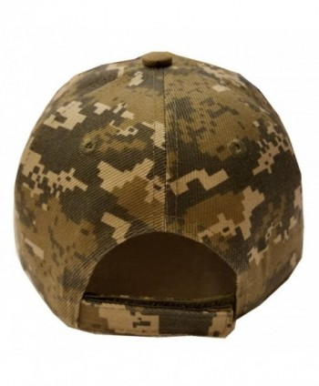 VINSON Digital Camouflage Military Baseball