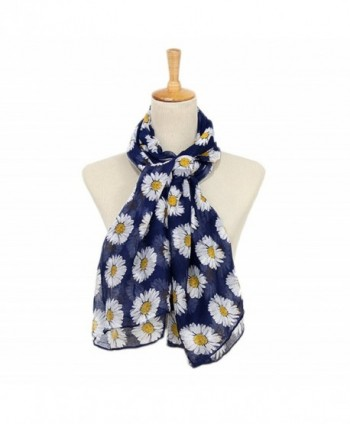 Sundayrose Womens Flower Summer Scarves in Fashion Scarves
