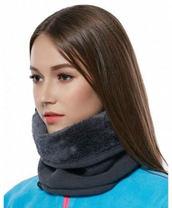 Unisex Winter Fleece Windproof Thermal in Women's Cold Weather Neck Gaiters