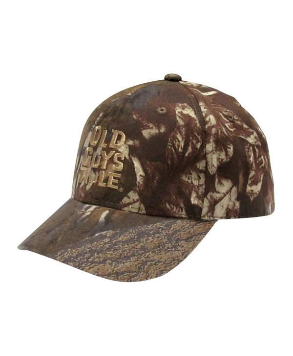 Old Guys Rule Mens The Older I Get Hat One Size Camo - C21271DM4S1