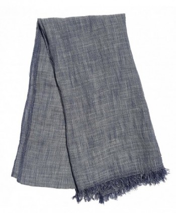 Natural Cotton Synthetic Fibers Scarves