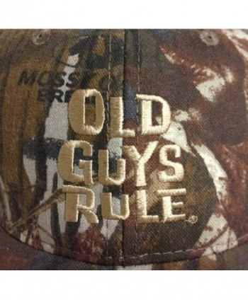 Old Guys Rule Mens Older in Men's Baseball Caps