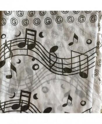 Music Note Scarf Teacher College