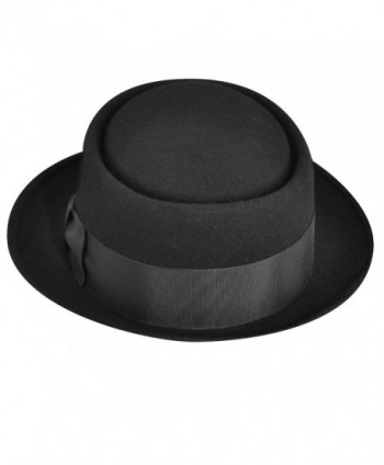 Hats Com Men Kingpin Chemist Black in Men's Fedoras