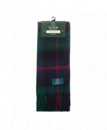 Clans Of Scotland Pure New Wool Scottish Tartan Scarf Armstrong (One Size) - C81257AB0AL