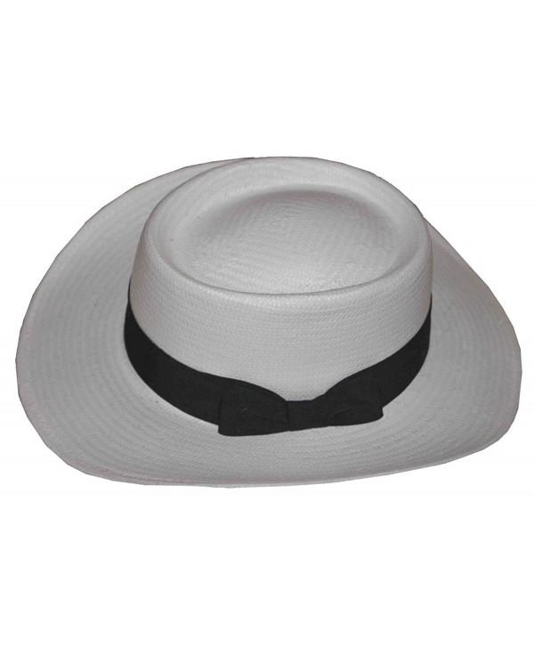 K Men's Gambler Toyo Hat White - C1127BQQUDN