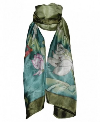 Invisible World Womens Painted Dragonfly in Fashion Scarves